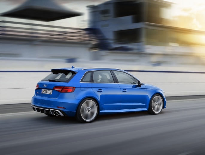 Audi RS 3 Limousine i RS 3 Sportback –  dynamiczny duet